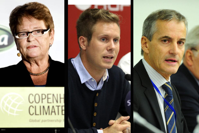 tidligere norske statsminister Gro Harlem Brundtland, AUF-leder Eskil Pedersen og udenrigsminster Jonas Gahr Støre skulle dræbes af Breivik.