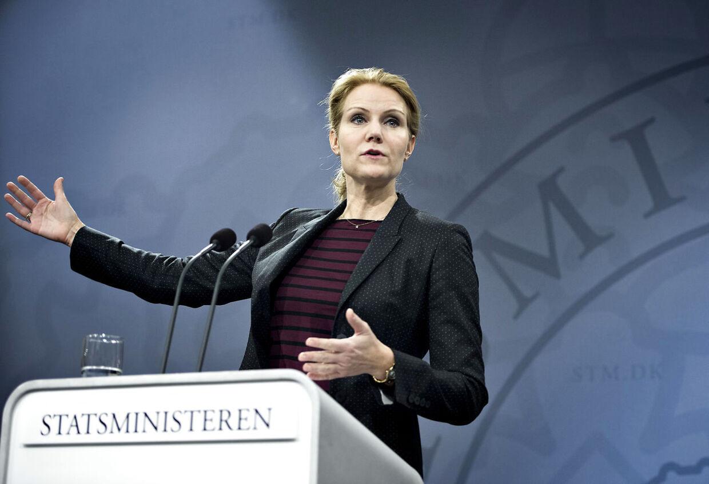 Statsminister Helle Thorning-Schmidt kan smile over den seneste gallup
