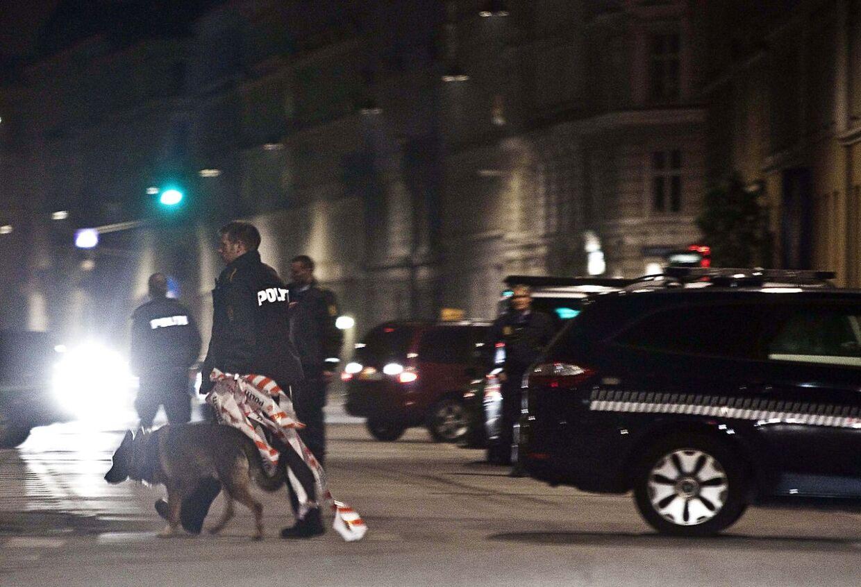 Arkivfoto: Politiet på arbejde i København