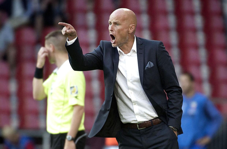 Ståle Solbakken er vild med den marokkanske angriber Hammed-Allah, der blev topscorer i Aalesund i sidste sæson.