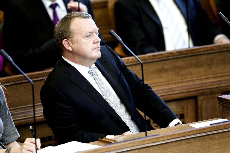 Lars Løkke Rasmussen og Venstre står til stor fremgang i ny måling.