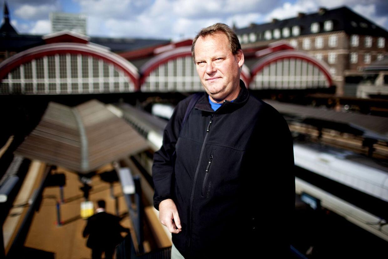 Lokofører Erik Pedersen.