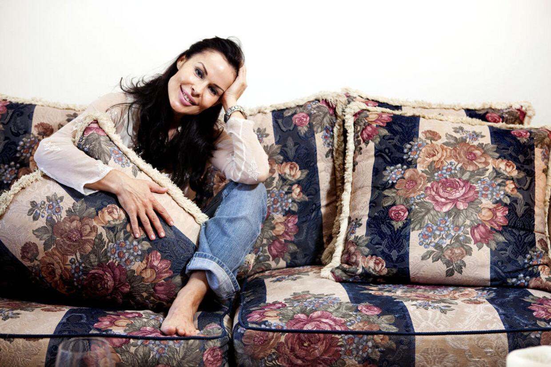Simone Levin er en af de danske Hollywoodfruer vi følger i programmet på TV3.