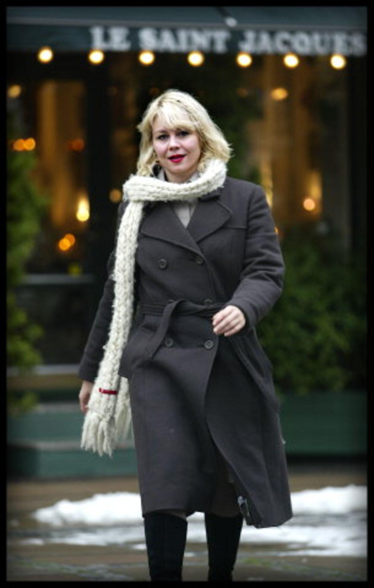 """Selv om Krøniken-skuespilleren Anne Louise Hassing frivilligt smed kludene i filmen """"Idioterne"""" fra 1998, var det krænkende, da ugebladet Se og Hør syv år senere valgte at bringe billederne fra filmen. Arkivfoto: Jørgen Jessen"""