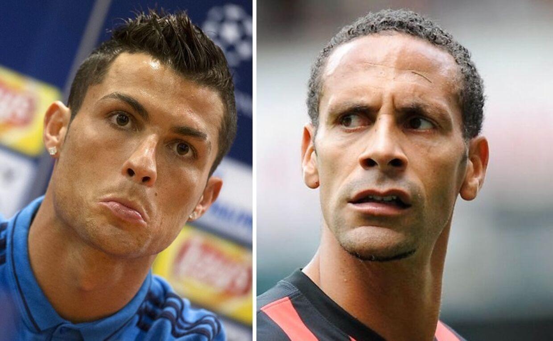 Cristiano Ronaldo og Rio Ferdinand er ikke helt enige.