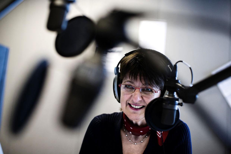 Margaret Lindhardt, fyret på gråt papir fra hendes eget succesprogram Giro 413. Uden forklaring fra cheferne i Danmarks Radio