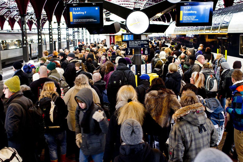 DSB forventer flest kunder lørdag den 22. december, men også fredag vil man opleve mange passagerer.