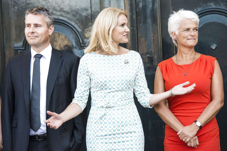 Regeringsrokade - Amalienborg .