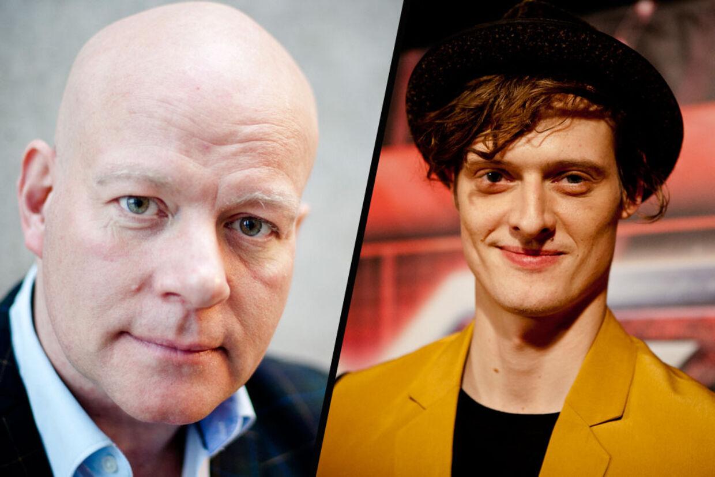 Thomas Blachman vil have Jonas (th) stemt ud af X factor på fredag