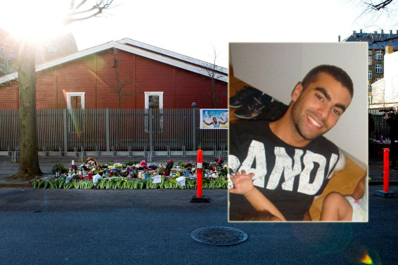 21-årige Cem Aydin blev tæsket ihjel foran hjem på Frederiksberg 19. januar 2012. Siden har familie, venner og bekendte lagt blomster, breve og tændt lys ved stedet.