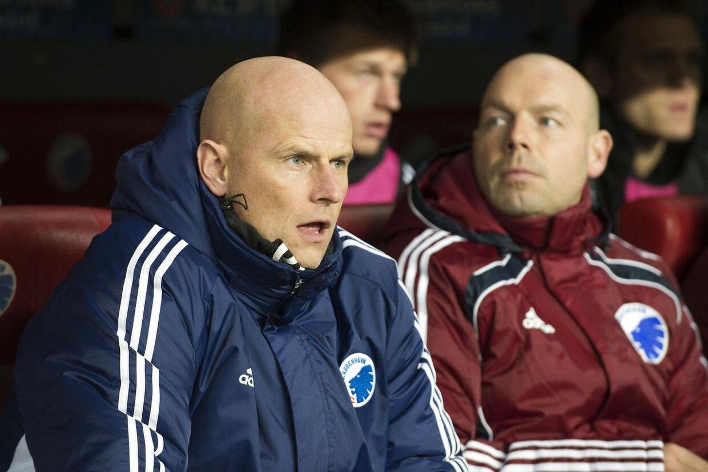 Ståle Solbakken skal efter fyringen af Carsten V. Jensen fungere som både cheftræner og sportlige ansvarlig i FC København.