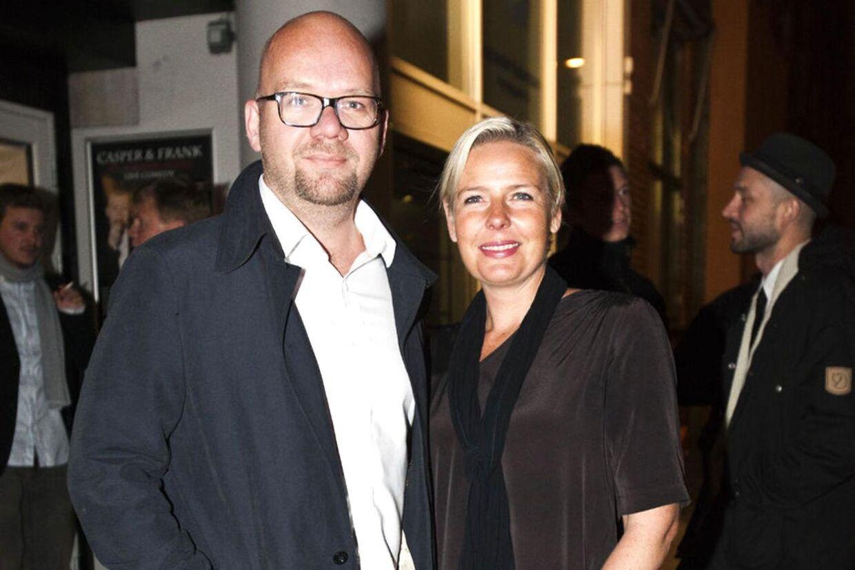 Lars Hjortshøj og Tina Bilsbo har sat deres landlige idyl i Buresø til salg.