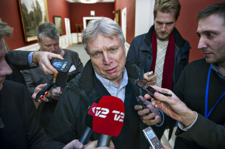 Kulturminister Uffe Elbæk (RV)