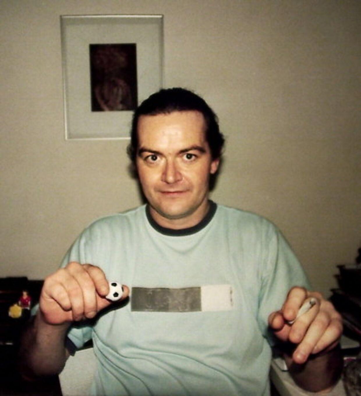 Den dræbte Torben Vagn Knudsen. Foto: Martin Sylvest/Privat