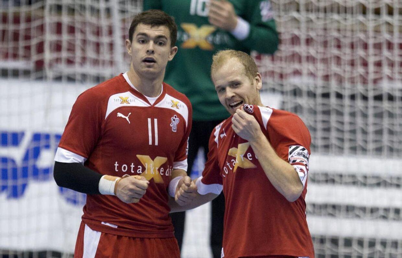Rasmus Lauge og Anders Eggert er foreløbigt ude af truppen.