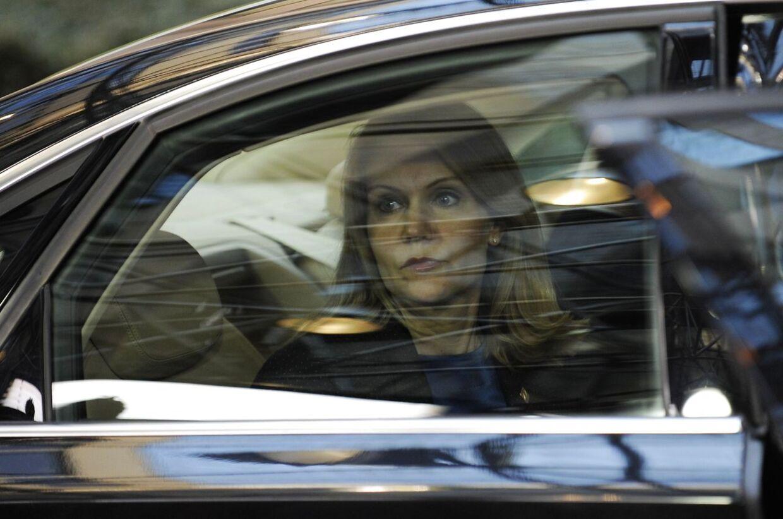 Helle Thorning-Schmidt til EU-topmøde.