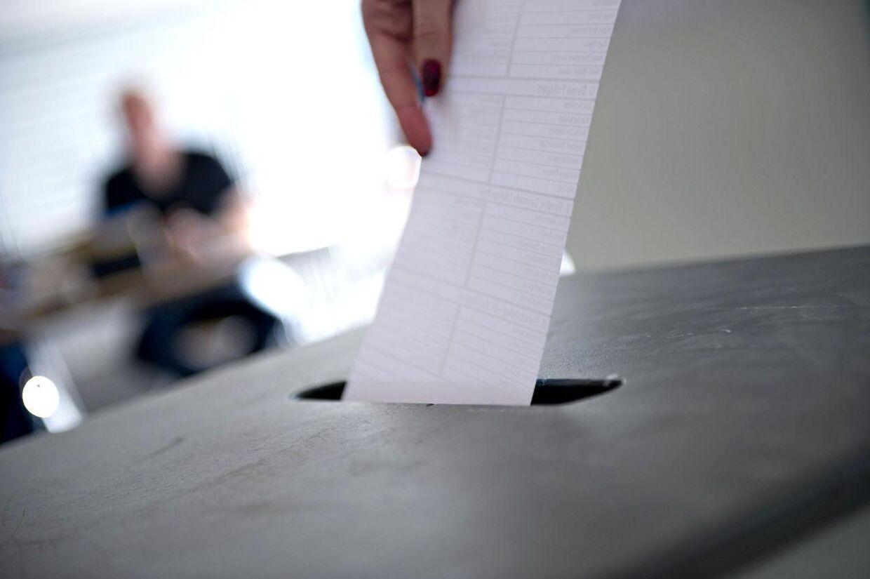 En borger fra Malling, syd for Aarhus, fik sin brevstemme erklæret ugyldig. Ikke fordi der var fejl på stemmesedlen, men fordi borgeren gik bort inden dagens valg. Arkivfoto.