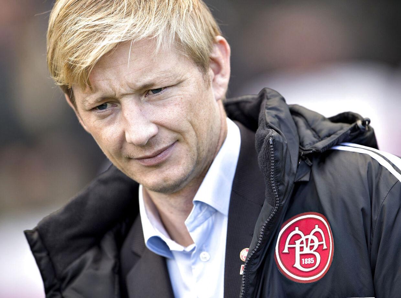 Aab - Viborg , Superliga, Nordjyske Arena-Aalborg.: Aabs sportschef Allan Gaarde