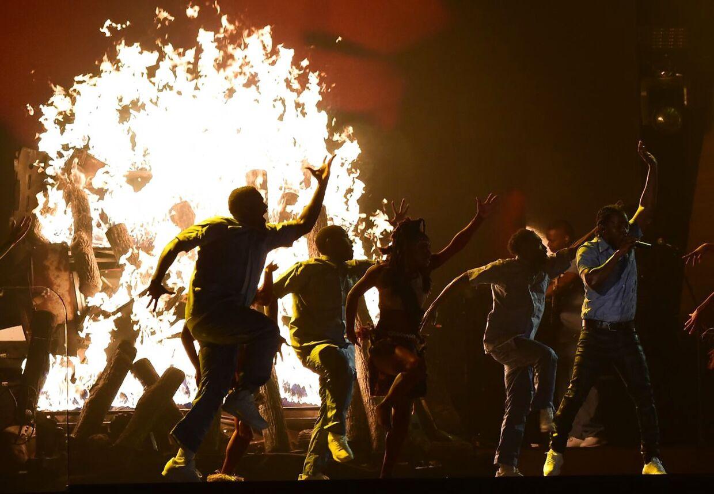 Los Angeles-rapperen Kendrick Lamar viste natten til tirsdag, hvorfor det var ham, der var nomineret til flest Grammy-priser.