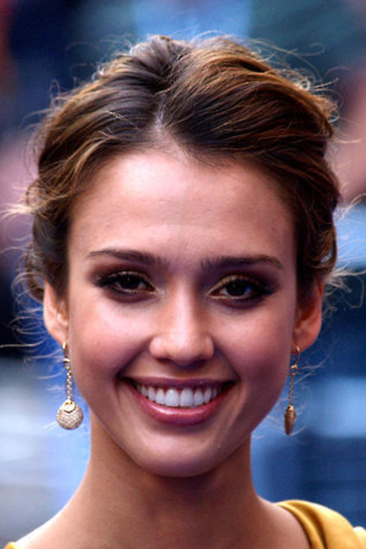 Jessica Alba er glad for sex. Foto: AFP.