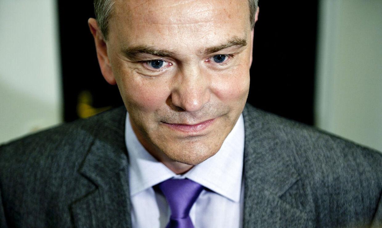Formand for KL og borgmester i Horsens, socialdemokraten Jan Trøjborg, døde under et motionscykelløb i forbindelse med Giro d'Italia søndag. Han blev 56 år. Foto: Keld Navntoft/Scanpix