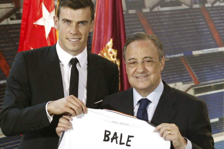 En enorm sum penge blev lagt, da Gareth Bale i sommer blev købt af Real Madrid. (Arkivfoto).