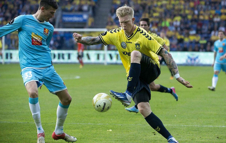 Simon Makienok scorede to gange, da Brøndby vandt 2-0 i den sidste testkamp inden Superliga-starten.