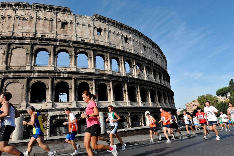 En italiensk løber forsøgte at undgå at aflevere sin egen urin ved de nationale mesterskaber i 10 km landevej. Han brugte en falsk penis. (arkivfoto)