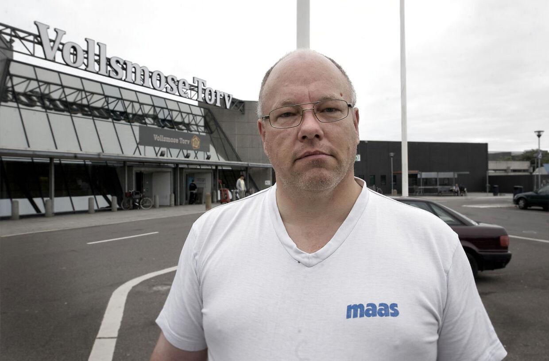 'Det var meget voldsomt og helt vanvittigt,' siger Peter Rasmussen, der er beboer i området.