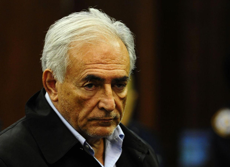 Dominique Strauss-Kahn i retten på Manhattan