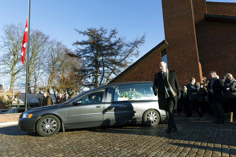 Begravelse. Den skuddræbte Jonathan Taboryski fra Høje Gladsaxe bisættes kl. 11.00 fra Stengård Kirke og begraves på Gladsaxe kirkegård.