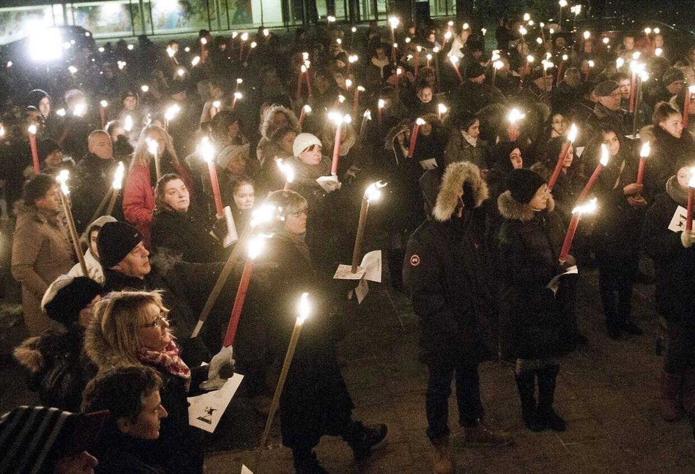 Mandag den 14. januar var der i Høje Gladsaxe arrangeret en demonstration mod vold efter skuddrabet på den19-årige Jonathan Taboryski.