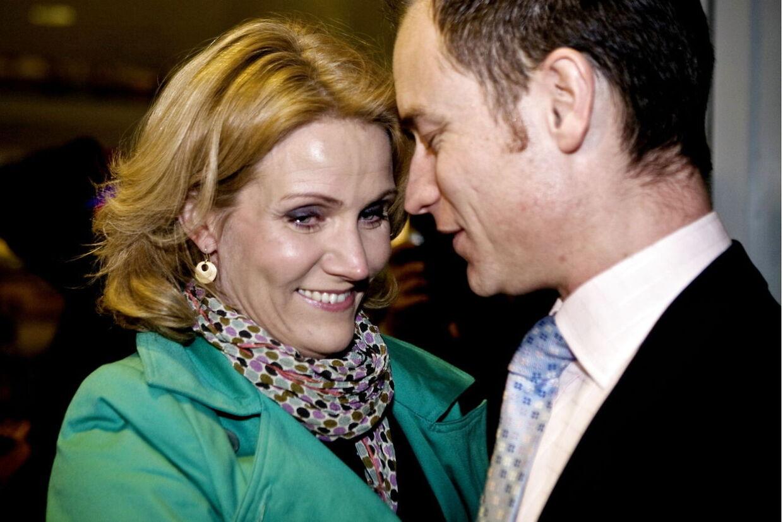 Statsminister Helle Thorning-Schmidt og hendes mand Stephen Kinnock.