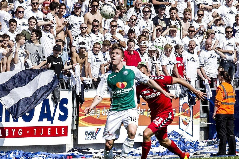 AGF og Viborg må i denne sæson kæmpe om oprykning til Superligaen, efter begge hold i sidste sæson trak sorteper.