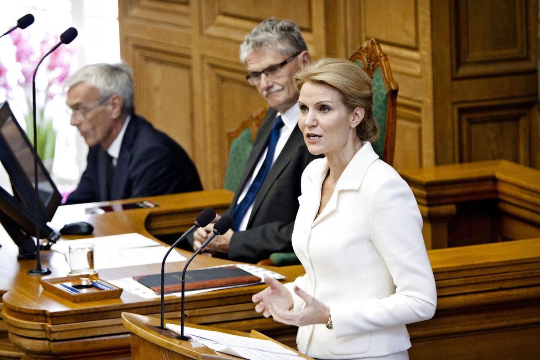 Helle Thorning-Schmidt og Mogens Lykketoft.