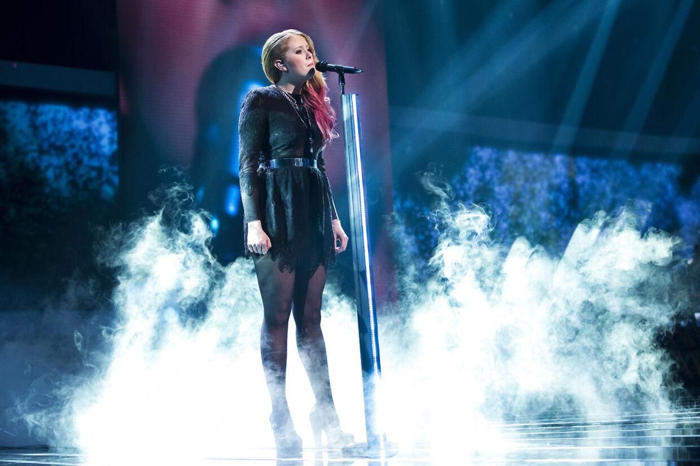Her ses X Factor-deltager Henriette Haubjerg