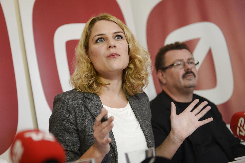 Johanne Schmidt-Nielsen og Per Clausen vil sætte SF på pinebænken.