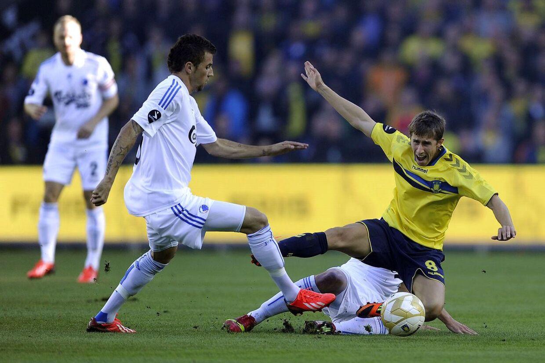 Alexander Szymanowski var kampens helt store oplevelse mod FCK.