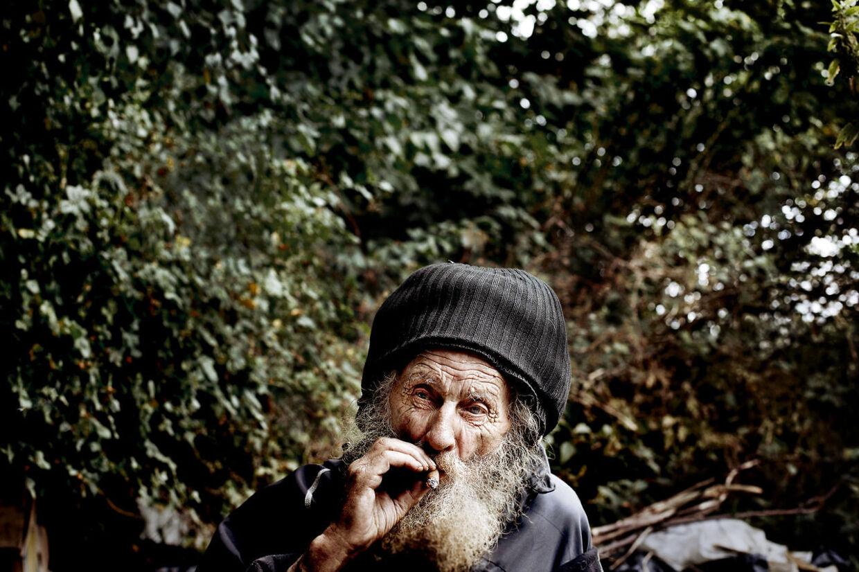 Hardy Hedagerfyldte 86 år i marts. Onsdag eftermiddag blev han fundet død efter at have levet udenfor siden 1965. Han var formentlig landets ældste hjemløse.