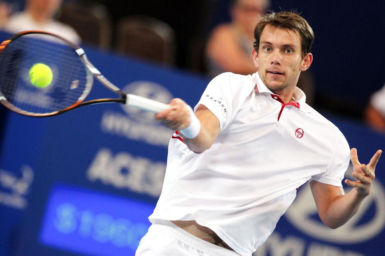 Frederik Løchte Nielsen er videre i Australian Open (Arkivbillede)