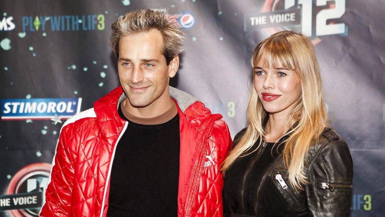 Arkivfoto. Her ses Oliver Bjerrehuus og Gunnvør Dalsgaard til The Voice i Tivoli mandag 24. september 2012.