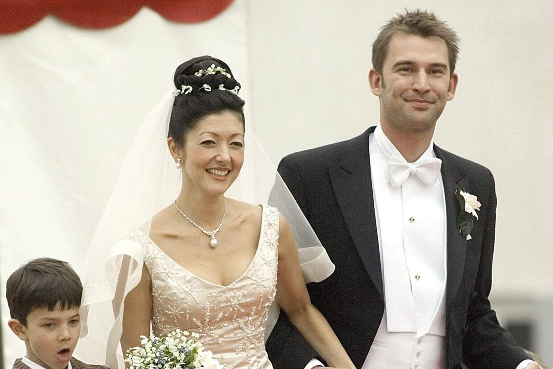 Martin Jørgensen og grevinde Alexandra sagde ja til hinanden ved et bryllup i 2007. Men brister kærligheden, så deler parret ikke formuen lige. Foto: Keld Navntoft