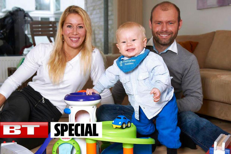 Sophie Fjellvang-Sølling mistede natten til lørdag sin 36-årige mand.