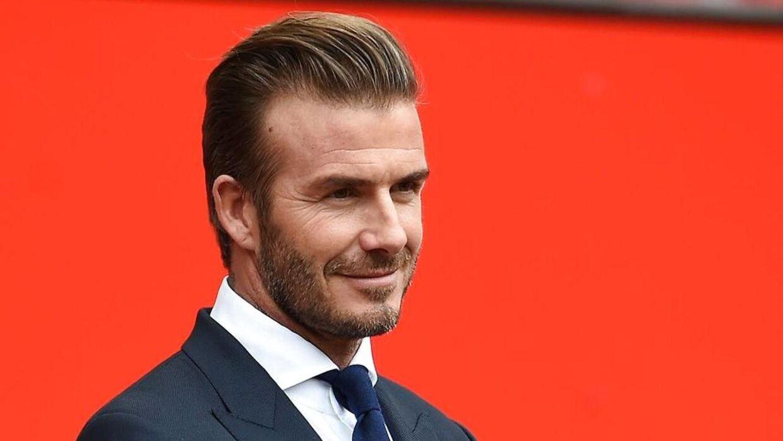 David Beckham kan næsten ikke styre sin glæde over at se Zinedine Zidane i Real Madrid-trænerjobbet.