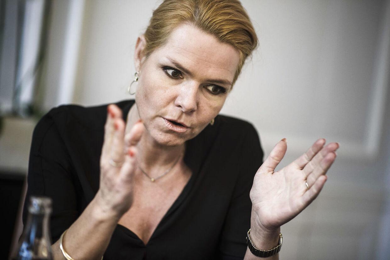Integrationsminister Inger Støjberg.