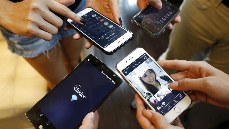 Venstre swipe dating app
