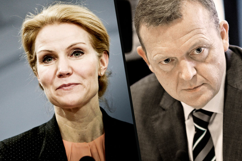 Helle Thorning-Schmidt og Lars Løkke Rasmussen