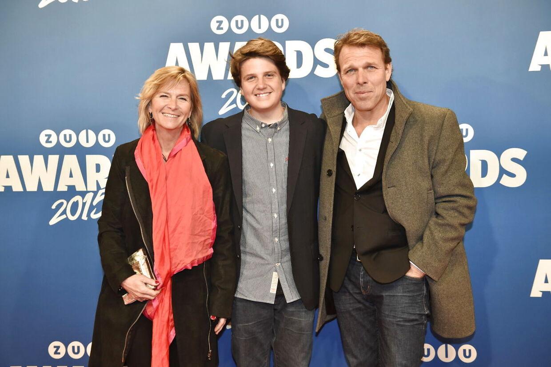 Mikkel Beha med familie