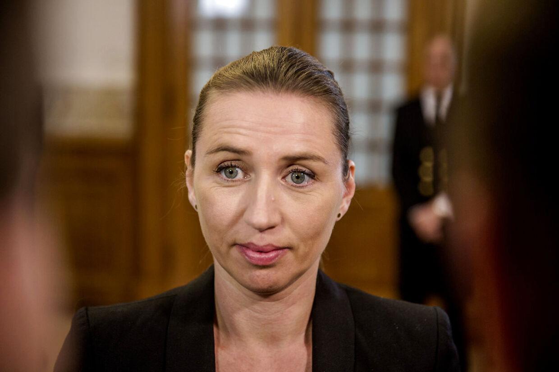 S har krævet at en afgørelse om Mette Frederiksens beskatning af fri bil og chauffør blev afgjort af Skatterådet i fuld fortrolighed.