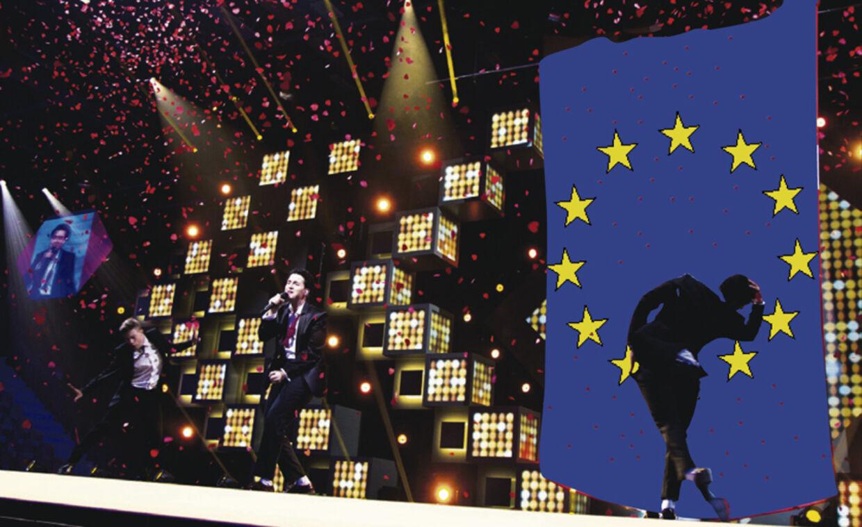 Basim skal bruge EU-flag bt.dk bragte artiklen om Helle Thorning-Schmidt, der i en fortrolig mail til grandprix-vinderen Basims management gav udtryk for, at man gerne ser, at den unge sanger gør brug af EU-flaget i sin optræden ved Det internationale Melodi Grand Prix i København til maj.